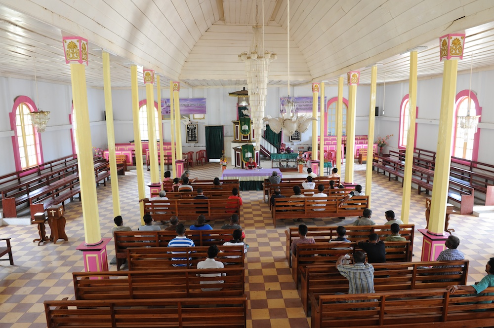 Rapat Panitia Gereja Baru Kaibobo okt. 2014